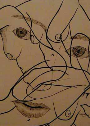 picasso cubism eyes